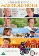 The Best Exotic Marigold Hotel - Danish DVD movie cover (xs thumbnail)