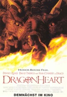 Dragonheart - German Movie Poster (xs thumbnail)