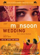Monsoon Wedding - German Movie Poster (xs thumbnail)