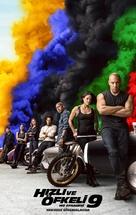 F9 - Turkish Movie Poster (xs thumbnail)
