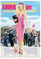 Legally Blonde - Danish Movie Poster (xs thumbnail)