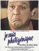 Sono fotogenico - French Movie Poster (xs thumbnail)