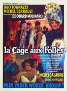 Cage aux folles, La - Belgian Movie Poster (xs thumbnail)