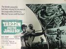 Tarzan and the Jungle Boy - British Movie Poster (xs thumbnail)