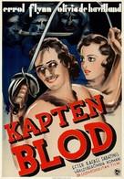 Captain Blood - Swedish Movie Poster (xs thumbnail)