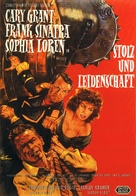 The Pride and the Passion - German Movie Poster (xs thumbnail)