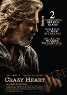 Crazy Heart - French Movie Poster (xs thumbnail)