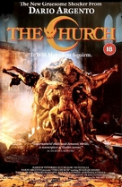 La chiesa - British DVD cover (xs thumbnail)