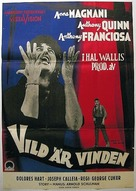 Wild Is the Wind - Swedish Movie Poster (xs thumbnail)