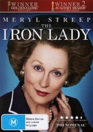 The Iron Lady - Australian DVD cover (xs thumbnail)
