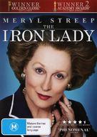 The Iron Lady - Australian DVD movie cover (xs thumbnail)