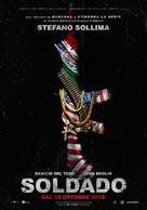 Sicario 2: Soldado - Italian Movie Poster (xs thumbnail)