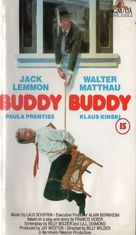 Buddy Buddy - British VHS movie cover (xs thumbnail)