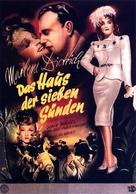 Seven Sinners - German Movie Poster (xs thumbnail)