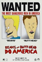 Beavis and Butt-Head Do America - Advance movie poster (xs thumbnail)