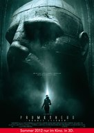 Prometheus - German Movie Poster (xs thumbnail)