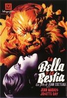 La belle et la bête - Spanish Theatrical poster (xs thumbnail)