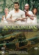 Anacondas: The Hunt For The Blood Orchid - Australian DVD cover (xs thumbnail)