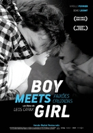 Boy Meets Girl - Portuguese Movie Poster (xs thumbnail)