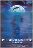 Le grand bleu - German Movie Poster (xs thumbnail)