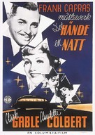 It Happened One Night - Swedish Theatrical poster (xs thumbnail)