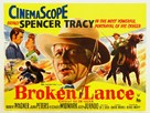 Broken Lance - British Movie Poster (xs thumbnail)