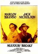 The Missouri Breaks - French Movie Poster (xs thumbnail)