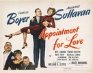 Appointment for Love - Movie Poster (xs thumbnail)