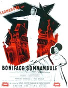 Boniface somnambule - French Movie Poster (xs thumbnail)