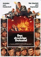 The Dirty Dozen - German Movie Poster (xs thumbnail)
