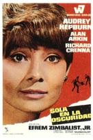 Wait Until Dark - Spanish Movie Poster (xs thumbnail)
