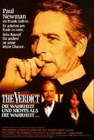 The Verdict - German Movie Poster (xs thumbnail)