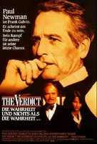 The Verdict - German Movie Poster (xs thumbnail)