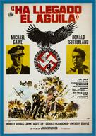 The Eagle Has Landed - Spanish Movie Poster (xs thumbnail)