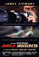 Rear Window - Brazilian Re-release movie poster (xs thumbnail)