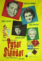 Guys and Dolls - Swedish Movie Poster (xs thumbnail)