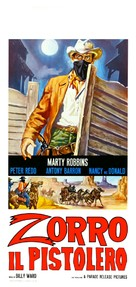 Ballad of a Gunfighter - Italian Movie Poster (xs thumbnail)