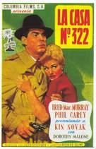 Pushover - Spanish Movie Poster (xs thumbnail)