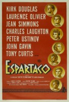 Spartacus - Argentinian Movie Poster (xs thumbnail)