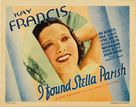 I Found Stella Parish - Movie Poster (xs thumbnail)