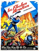 Flaming Feather - French Movie Poster (xs thumbnail)