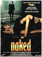Naked - French Movie Poster (xs thumbnail)