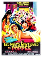 Le calde notti di Poppea - French Movie Poster (xs thumbnail)