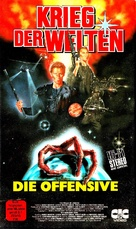"""""""War of the Worlds"""" - German VHS movie cover (xs thumbnail)"""
