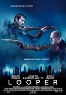 Looper - Spanish Movie Poster (xs thumbnail)