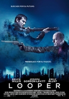 Looper - Spanish Movie Poster (xs thumbnail)