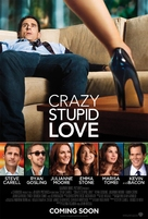 Crazy, Stupid, Love. - British Movie Poster (xs thumbnail)