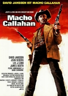 Macho Callahan - German Movie Poster (xs thumbnail)