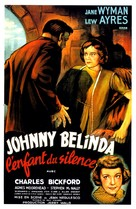 Johnny Belinda - French Movie Poster (xs thumbnail)