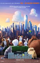 The Secret Life of Pets - Spanish Movie Poster (xs thumbnail)